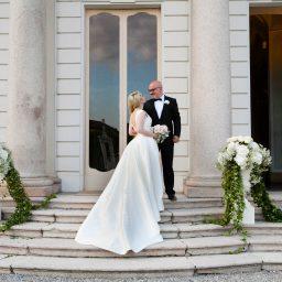 Un matrimonio classico ed elegante